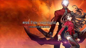 Rating: Safe Score: 38 Tags: archer fate/stay_night sword tohsaka_rin weapon User: pantu