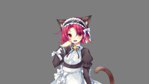 Rating: Safe Score: 55 Tags: animal_ears game_cg kitten_philia maid minazuki_haruka tail transparent User: Maboroshi