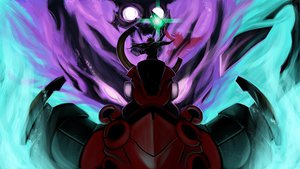 Rating: Safe Score: 52 Tags: cape james_dizon kamina mecha simon tengen_toppa_gurren_lagann User: SonicBlue