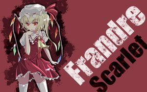 Rating: Safe Score: 57 Tags: blonde_hair flandre_scarlet hat petals red_eyes short_hair thighhighs touhou vampire wings User: elimico