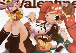 Rating: Safe Score: 11 Tags: doki_doki_majo_shinpan tagro valentine User: Oyashiro-sama