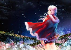 Rating: Safe Score: 124 Tags: building christmas clouds flowers guilty_crown long_hair pink_hair red_eyes santa_costume sky snow stells thighhighs wet yuzuriha_inori User: opai