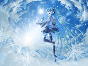 Rating: Safe Score: 18 Tags: hatsune_miku snow tagme vocaloid white yuki_miku User: Tensa