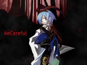 Rating: Safe Score: 7 Tags: blue_hair brown_eyes disgaea headband jpeg_artifacts pleinair pointed_ears ribbons ryo short_hair User: Oyashiro-sama