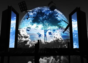 Rating: Safe Score: 154 Tags: 3d clouds nobody original polychromatic scenic sky tree y-k User: STORM