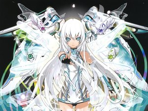 Rating: Safe Score: 255 Tags: blue_eyes kaku-san-sei_million_arthur mechagirl scan white_hair yume_koreshiki User: Chihiru
