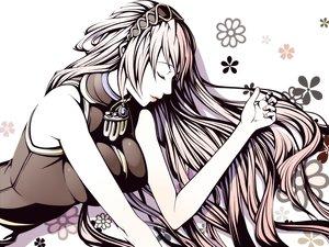 Rating: Safe Score: 49 Tags: flowers megurine_luka torigoe_takumi vocaloid User: aoyoru