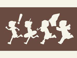 Rating: Safe Score: 5 Tags: brown koiwai_yotsuba silhouette yotsubato! User: Oyashiro-sama