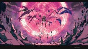Rating: Safe Score: 144 Tags: aliasing houjuu_nue magic namauni spear thighhighs touhou weapon wings User: Flandre93
