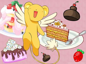 Rating: Safe Score: 8 Tags: cake card_captor_sakura kero User: 秀悟