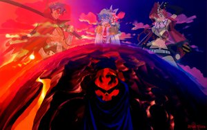 Rating: Safe Score: 43 Tags: kamina nia_teppelin simon tengen_toppa_gurren_lagann yoko_littner User: Jeffusz
