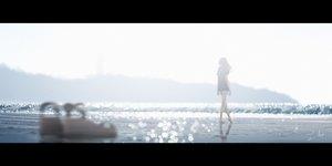 Rating: Safe Score: 32 Tags: barefoot beach long_hair original scenic shorts signed tamaki_(tamaki_illust) water User: FormX