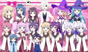 Rating: Safe Score: 72 Tags: akaza_akari black_hair blonde_hair blood blue_eyes blue_hair blush bow braids brown_eyes funami_yui furutani_himawari furutani_kaede ganbo glasses green_eyes hat ikeda_chitose ikeda_chizuru kanap0n long_hair mari_(yuru_yuri) matsumoto_rise mirakurun nishigaki_nana nosebleed oomuro_sakurako pink_eyes pink_hair ponytail purple_eyes purple_hair red_eyes red_hair rivalun seifuku short_hair skull sugiura_ayano toshinou_kyouko twintails wand witch yellow_eyes yoshikawa_chinatsu yuru_yuri User: Goggles:D