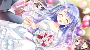 Rating: Safe Score: 32 Tags: black_hair blue_eyes blue_hair blush brown_eyes brown_hair dress ensemble_(company) flowers game_cg kimishima_ao koi_suru_kimochi_no_kasanekata koi_suru_kimochi_no_kasanekata_~kasaneta_omoi_zutto~ long_hair ougi_ichika short_hair skirt User: RyuZU