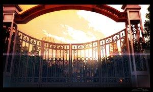 Rating: Safe Score: 30 Tags: 3d building nobody original signed sunset tree waisshu_(sougyokyuu) User: RyuZU