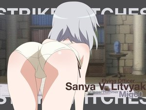 Rating: Questionable Score: 54 Tags: ass panties sanya_v_litvyak strike_witches underwear vector User: pantu