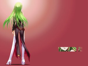 Rating: Safe Score: 44 Tags: cc code_geass green_hair nopan red User: Ludwig