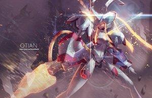 Rating: Safe Score: 75 Tags: darling_in_the_franxx mecha qtian spear watermark weapon User: RyuZU