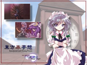 Rating: Safe Score: 8 Tags: izayoi_sakuya maid patchouli_knowledge touhou User: Oyashiro-sama