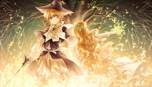 Rating: Safe Score: 82 Tags: blonde_hair hat instockee magi_the_labyrinth_of_magic male scheherazade titus_alexius tree witch_hat User: FormX