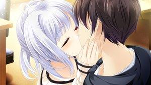 Rating: Safe Score: 35 Tags: close ensemble_(company) game_cg kiss konoe_souichi male mibu_natsuki_(ojonai) ojou-sama_wa_sunao_ni_narenai tagme_(artist) User: luckyluna