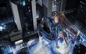 Rating: Safe Score: 357 Tags: beatless blue_eyes brown_hair gun long_hair original redjuice weapon wings User: Tensa