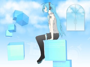 Rating: Safe Score: 17 Tags: hatsune_miku twintails vocaloid User: qashairy