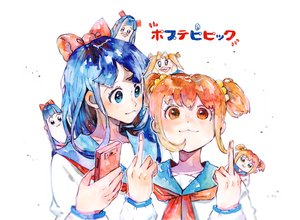 Rating: Safe Score: 13 Tags: 2girls cat_smile neulbaram pipimi pop_team_epic popuko User: FormX