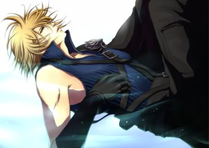 Rating: Safe Score: 47 Tags: cloud_strife final_fantasy final_fantasy_vii final_fantasy_vii_advent_children User: HawthorneKitty