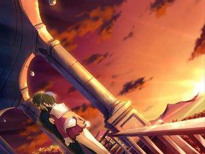 Rating: Safe Score: 7 Tags: favorite game_cg happy_margaret! kokonoka sky sunset tsuwabuki_akira User: 秀悟