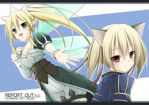 Rating: Safe Score: 48 Tags: ayano_keiko jpeg_artifacts leafa sword_art_online tagme User: w7382001