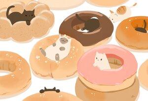 Rating: Safe Score: 27 Tags: animal cat chai_(artist) chocolate food nobody original signed User: otaku_emmy