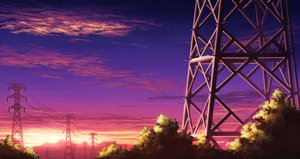 Rating: Safe Score: 33 Tags: clouds nobody original scenic sky sunset tagme_(artist) User: RyuZU