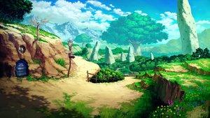 Rating: Safe Score: 49 Tags: building clouds flowers grass mitsu_ura nobody original scenic sky tree User: RyuZU