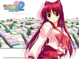 Rating: Safe Score: 14 Tags: amaduyu_tatsuki aquaplus kousaka_tamaki leaf to_heart to_heart_2 User: Oyashiro-sama