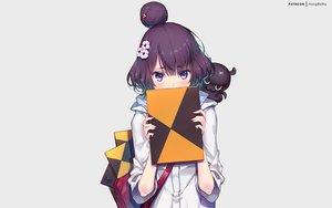 Rating: Safe Score: 84 Tags: blush book fate/grand_order fate_(series) gray hong_(white_spider) katsushika_hokusai purple_eyes purple_hair short_hair signed tokitarou_(fate/grand_order) watermark User: RyuZU