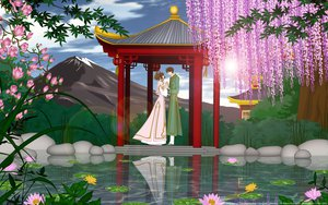 Rating: Safe Score: 10 Tags: flowers photoshop sakura_(tsubasa) syaoran tsubasa_reservoir_chronicle vector User: gnarf1975