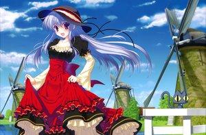 Rating: Safe Score: 86 Tags: dress hat long_hair nanao_naru User: Wiresetc