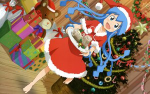 Rating: Safe Score: 36 Tags: christmas ikamusume santa_costume shinryaku!_ikamusume User: meccrain