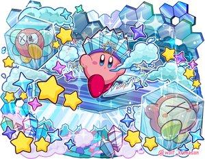 Rating: Safe Score: 16 Tags: bronto_burt crown kirby kirby_(character) ninjya_palette stars waddle_dee waifu2x watermark User: otaku_emmy