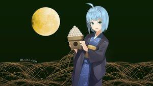 Rating: Safe Score: 34 Tags: blue_hair dlsite.com elle_sweet green_eyes japanese_clothes kimono moon natashya_(pommier) original short_hair User: winzz123