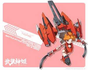 武装神姫の壁紙 1280×1024px 531KB