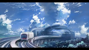 Rating: Safe Score: 54 Tags: clouds nodata original scenic sky train User: FormX