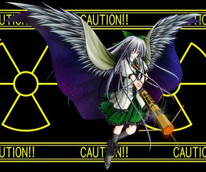 Rating: Safe Score: 9 Tags: gun reiuji_utsuho touhou weapon wings User: Tensa