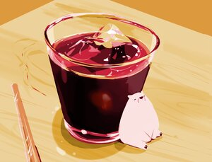 Rating: Safe Score: 27 Tags: animal bear chai_(artist) drink nobody original polychromatic signed User: otaku_emmy