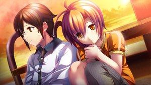 Rating: Safe Score: 28 Tags: agano_hikaru game_cg izuna_zanshinken male musumi_koutarou User: Maboroshi