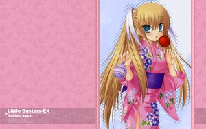 Rating: Safe Score: 32 Tags: apple candy food fruit japanese_clothes kimono little_busters! na-ga tokido_saya User: tommy333