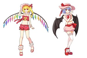 Rating: Questionable Score: 31 Tags: flandre_scarlet greetload remilia_scarlet touhou vampire wings User: gnarf1975