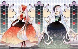Rating: Safe Score: 36 Tags: animal dress long_hair mouse saya_(artist) scan white_hair User: Zemu