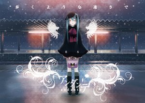 Rating: Safe Score: 94 Tags: hatsune_miku snow vocaloid yonasawa User: FormX